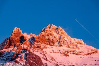 Abendsonne an Massiv du Chablais  Champéry Valais Schweiz by Peter Ehlert in Skigebiet Portes du Soleil