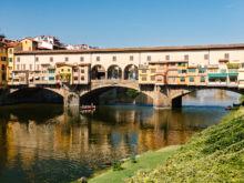 Ponte Vecchio  Firenze Toscana Italien by Peter Ehlert in Florenz - Wiege der Renaissance