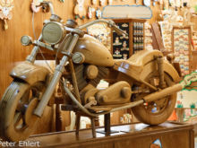 Harley aus Holz  Igea Marina Emilia-Romagna Italien by Peter Ehlert in Wellnessurlaub in Bellaria-Igea Marina