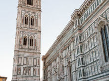 Campanile di Giotto  Firenze Toscana Italien by Peter Ehlert in Florenz - Wiege der Renaissance