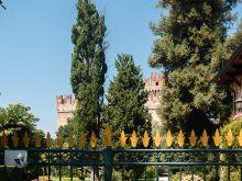 Garten mit Haus am See  Lazise Veneto Italien by Peter Ehlert in Lazise am Gardasee