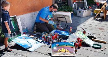 Strassenkünstler  Pisa Toscana Italien by Peter Ehlert in Abstecher nach Pisa