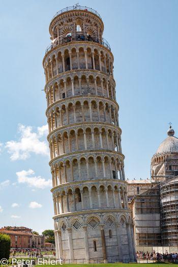 Torre di Pisa - schiefer Turm  Pisa Toscana Italien by Peter Ehlert in Abstecher nach Pisa
