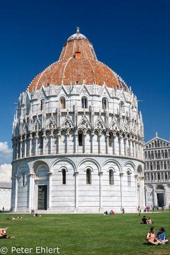 Battistero di San Giovanni  Pisa Toscana Italien by Peter Ehlert in Abstecher nach Pisa