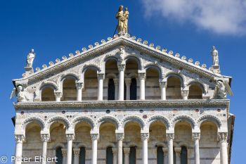 Portal der Cattedrale di Pisa  Pisa Toscana Italien by Peter Ehlert in Abstecher nach Pisa