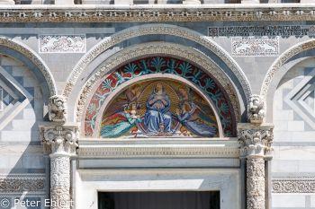 Mosaik an Cattedrale di Pisa  Pisa Toscana Italien by Peter Ehlert in Abstecher nach Pisa