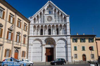 Portal der Chiesa di Santa Caterina d'Alessandria  Pisa Toscana Italien by Peter Ehlert in Abstecher nach Pisa