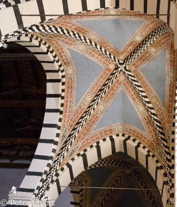 Decke im Seitenschiff  Pisa Toscana Italien by Peter Ehlert in Abstecher nach Pisa