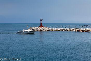 Hafeneinfahrt  Neapel Campania Italien by Peter Ehlert in Pompeii und Neapel