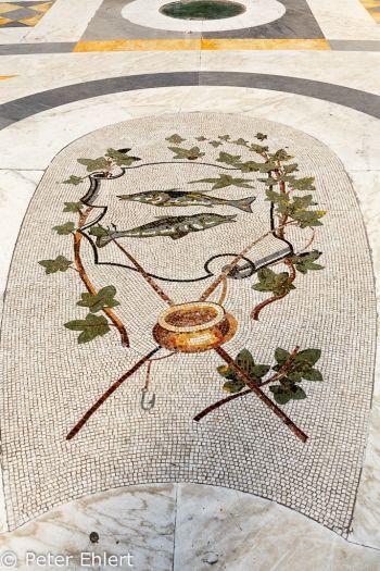 Fisch Mosaik  Neapel Campania Italien by Peter Ehlert in Pompeii und Neapel