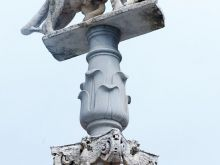 Wölfin mit Romulus und Remus  Siena Toscana Italien by Peter Ehlert in Siena auf der Durchreise