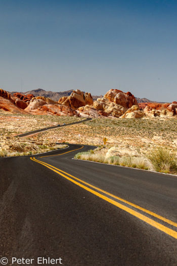 Mouse's Tanks Road   Nevada USA by Peter Ehlert in Valley of Fire - Nevada State Park