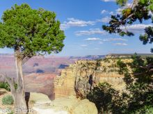 Powell Point  Grand Canyon Village Arizona USA by Peter Ehlert in Grand Canyon South Rim