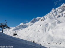 Sessellift Trittkopf 1 mit Rosskopf   Lech Vorarlberg Österreich by Peter Ehlert in Sankt Anton 2018