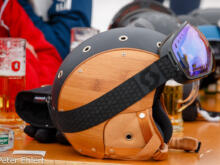 Helm aus Holz  Sankt Anton am Arlberg Tirol Österreich by Peter Ehlert in Sankt Anton 2018
