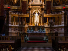 Altar  Budapest Budapest Ungarn by Peter Ehlert in Budapest Weekend