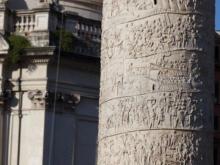 Colonna Traiano  Roma Latio Italien by Peter Ehlert in Rom - Colosseum und Forum Romanum