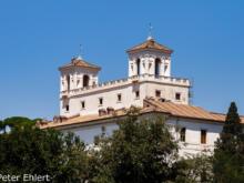 Villa Medici  Roma Latio Italien by Peter Ehlert in Rom - Plätze und Kirchen