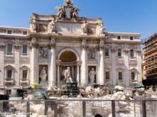 Fontana di Trevi  Roma Latio Italien by Peter Ehlert in Rom - Plätze und Kirchen