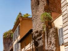 Ruinen der Bäder von Agrippa  Roma Latio Italien by Peter Ehlert in Rom - Plätze und Kirchen