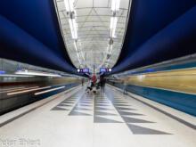 Hasenbergl  München Bayern Deutschland by Peter Ehlert in Munich Subway Stations