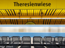 Theresienwiese  München Bayern Deutschland by Peter Ehlert in Munich Subway Stations
