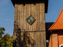 Kirchturm  Faßberg Niedersachsen Deutschland by Peter Ehlert in Lüneburger Heide