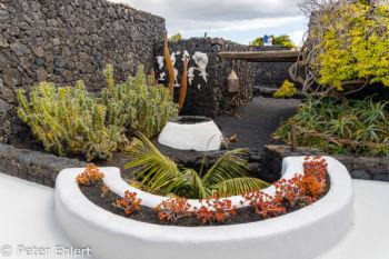 Innenhof  Teguise Canarias Spanien by Peter Ehlert in LanzaroteFundacion