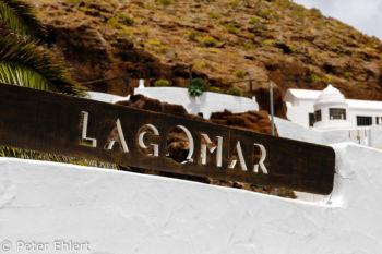 Eingangsschild  Nazaret Canarias Spanien by Peter Ehlert in LanzaroteLagomar