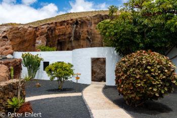 Eingang  Nazaret Canarias Spanien by Peter Ehlert in LanzaroteLagomar