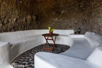 Sitzbereich in Berg  Nazaret Canarias Spanien by Peter Ehlert in LanzaroteLagomar