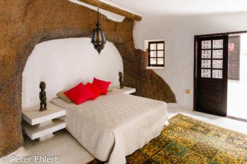 Schlafzimmer  Nazaret Canarias Spanien by Peter Ehlert in LanzaroteLagomar