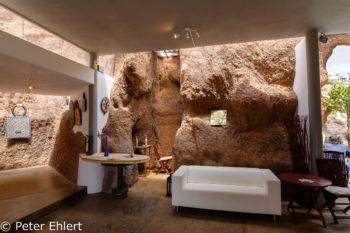 Cafeteria mit Galerie  Nazaret Canarias Spanien by Peter Ehlert in LanzaroteLagomar