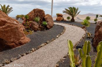 Weg zur Strasse  Nazaret Canarias Spanien by Peter Ehlert in LanzaroteLagomar