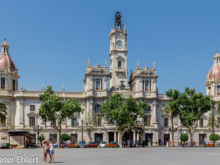 Rathaus  Valencia Provinz Valencia Spanien by Peter Ehlert in Valencia_Rathaus_Hauptpost