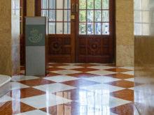 Ausgang  Valencia Provinz Valencia Spanien by Lara Ehlert in Valencia_Rathaus_Hauptpost