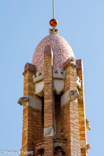 Nordostturm  Valencia Provinz Valencia Spanien by Peter Ehlert in Valencia_Eixample_Colon