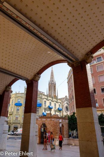 Ausgang Westseite  Valencia Provinz Valencia Spanien by Peter Ehlert in Valencia_Eixample_Colon