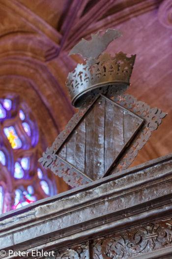 Krone mit Fledermaus  Valencia Provinz Valencia Spanien by Lara Ehlert in Valencia_Seidenbörse