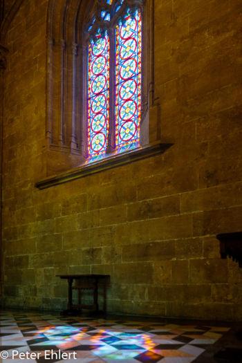 Mosaikfenster mit Licht auf Boden  Valencia Provinz Valencia Spanien by Peter Ehlert in Valencia_Seidenbörse