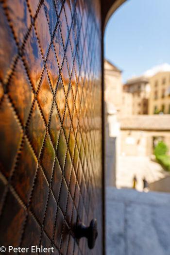 Eingangstür Prunksaal  Valencia Provinz Valencia Spanien by Peter Ehlert in Valencia_Seidenbörse