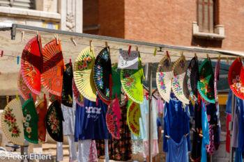 Fächer am Marktstand  Valencia Provinz Valencia Spanien by Peter Ehlert in Valencia_mercat_central