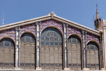 Glasfront am Eingang  Valencia Provinz Valencia Spanien by Lara Ehlert in Valencia_mercat_central