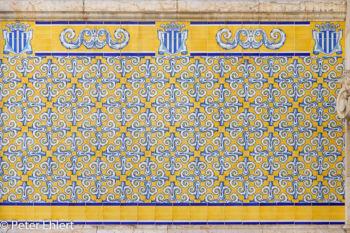 Ornametfliesen  Valencia Provinz Valencia Spanien by Peter Ehlert in Valencia_mercat_central