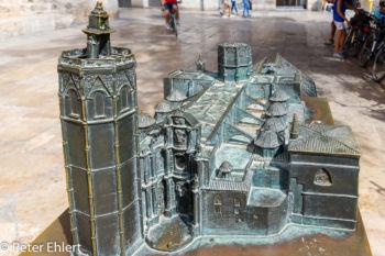 Model der Kathedrale  Valencia Provinz Valencia Spanien by Peter Ehlert in Valencia_Kathedrale