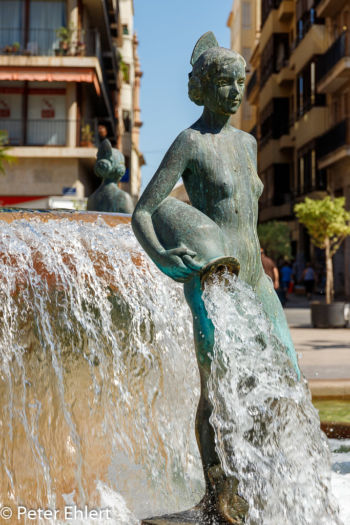 Fuente del Turia  Valencia Provinz Valencia Spanien by Peter Ehlert in Valencia_Kathedrale