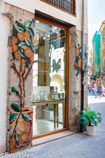 Geknüpfte Werbekunst  Valencia Provinz Valencia Spanien by Lara Ehlert in Valencia_Stadtrundgang
