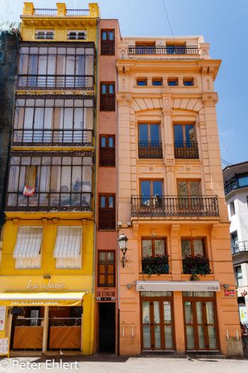 Sehr schmales Haus  Valencia Provinz Valencia Spanien by Peter Ehlert in Valencia_Stadtrundgang