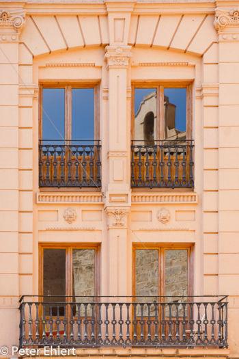 Spiegelung der Kirche  Valencia Provinz Valencia Spanien by Peter Ehlert in Valencia_Stadtrundgang