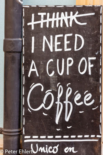 Werbekunst Kaffee  Valencia Provinz Valencia Spanien by Lara Ehlert in Valencia_Stadtrundgang